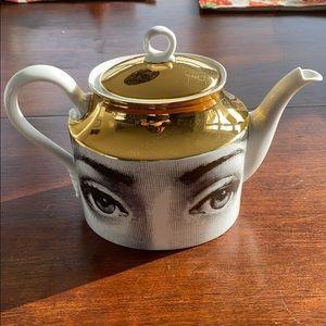 Fornasetti Teapot  Tema E Variazioni Italy